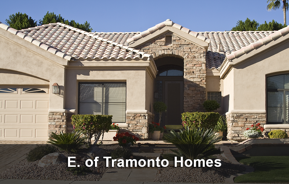 East of Tramonto Homes